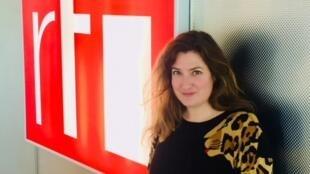 La romancière française Ingrid Astier à RFI (février 2019).