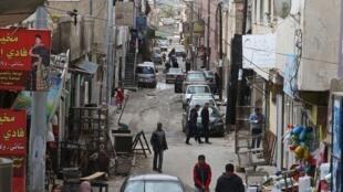 Le camp de réfugiés palestiniens d'al-Baqa´a en Jordanie.