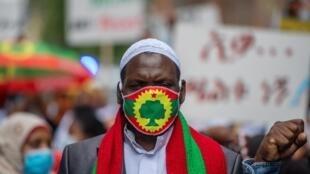 Oromo - Éthiopie - Oromo Liberation Front (OLF) - masque