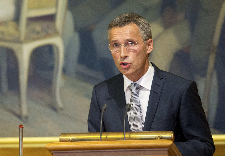 El primer ministro noruego Jens Stoltenberg.