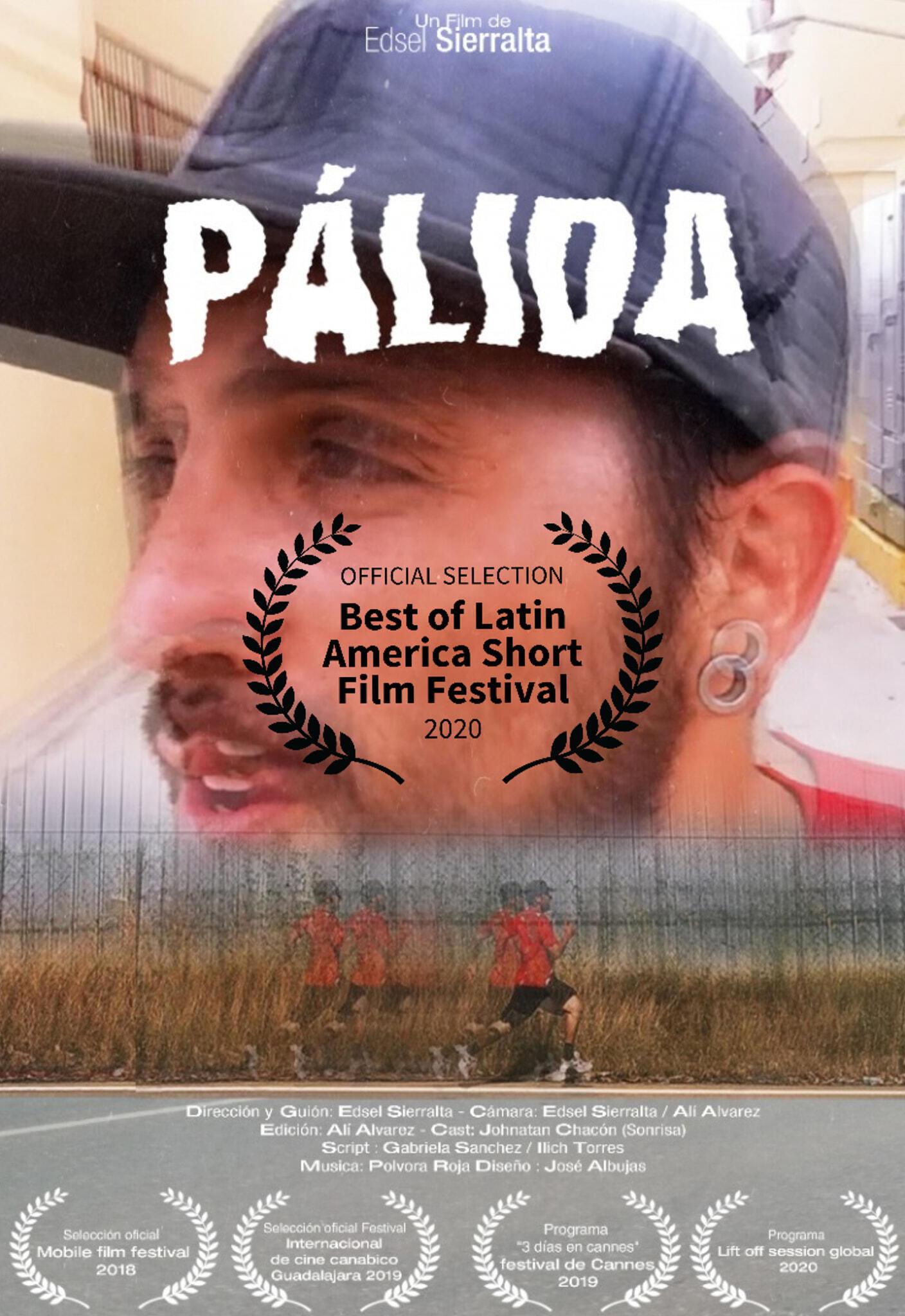 Afiche de la película 'Pálida'