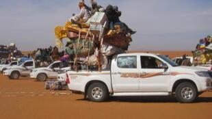 Trafic transfrontalier dans le nord du Niger.