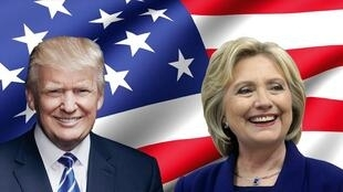 Hillary Clinton ta jam'iyyar Democrat da Donald Trump na Republican