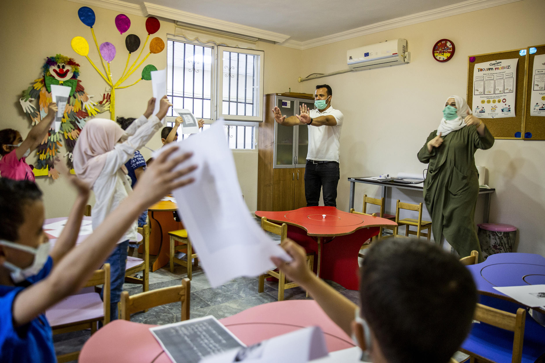 Turquie - Enfants syriens - écoles - 1I1A1526