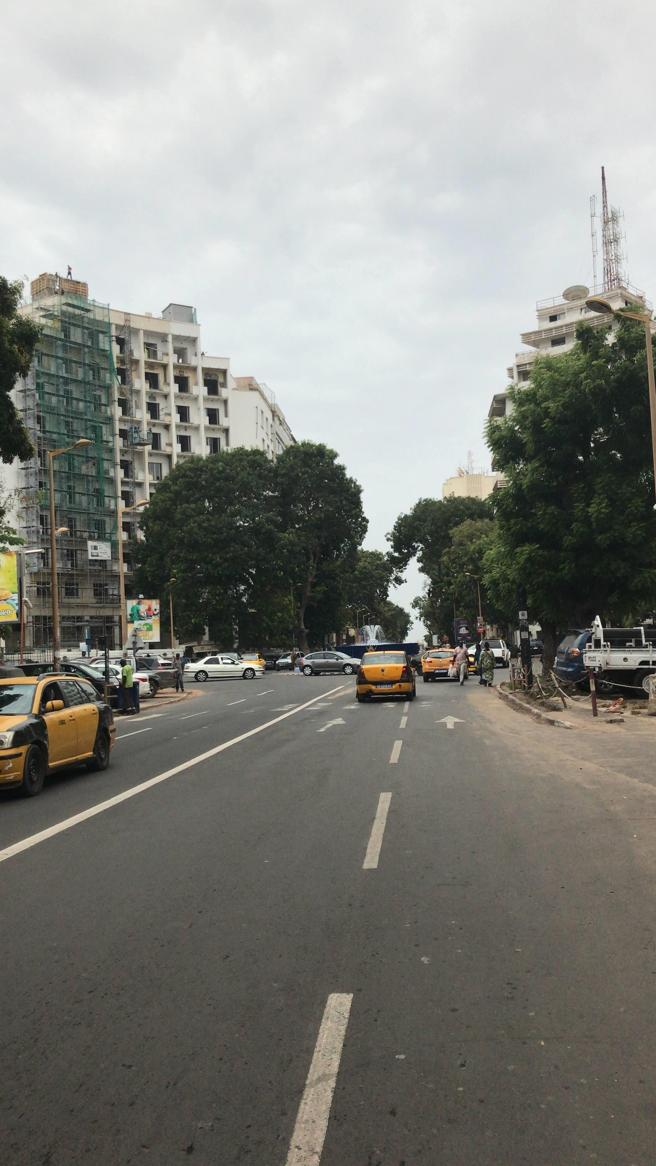 The streets of the Senegalese capital Dakar