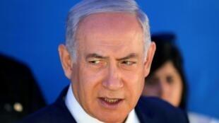 Le Premier ministre israélien Benyamin Netanyahu à Jérusalem le 27 août 2019.
