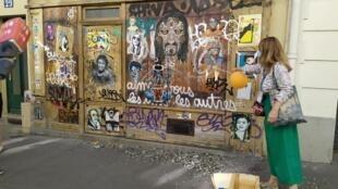 Le street art dans le quartier de la Butte aux cailles.