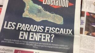 Capas dos diários franceses 11/04/2013