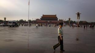 La plaza de Tiananmen, este 3 de junio de 2012.