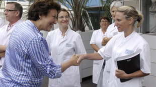 Health Minister Roselyne Bachelot has spoken in favour of controlled drug use
