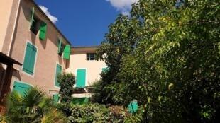Le jardin et la maison de Jean Giono, à Manosque.