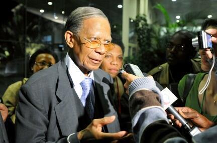 L'ancien président malgache Didier Ratsiraka.