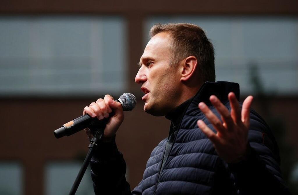 O opositor russo Alexeï Navalny