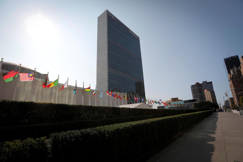 Trụ sở Liên Hiệp Quốc tại New York, ngày 21/09/2020.
