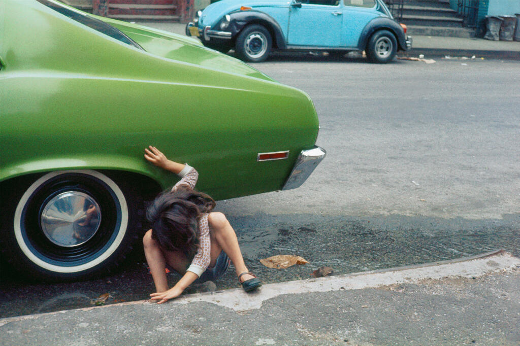 Helen Levitt, New York, 1980.