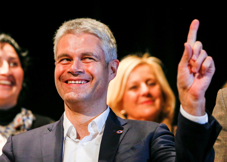 Laurent Wauquier, 42 anos, é o novo chefe da direita clássica na França.