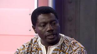 Marc Gbaffou (capture d'écran), président depuis 2008 de l'ONG Diaspora africaine, venant en aide aux migrants sud-africains.