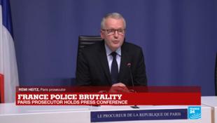 Paris prosecutor Remi Heitz.