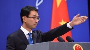 中國外交部發言人耿爽資料圖片