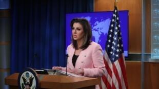美國國務院發言人奧特加斯資料圖片