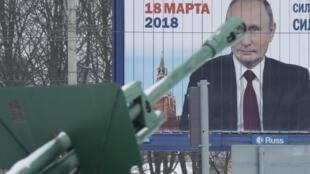 O orgulho da potência bélica russa adubou a retórica patriótica de Putin.