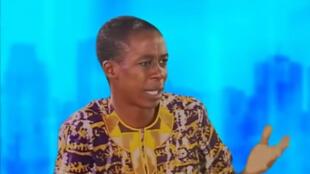 Victor Emmanuel Ekwa Bébé III, chargé de communication au sein d'Afrobaromètre (capture d'écran).