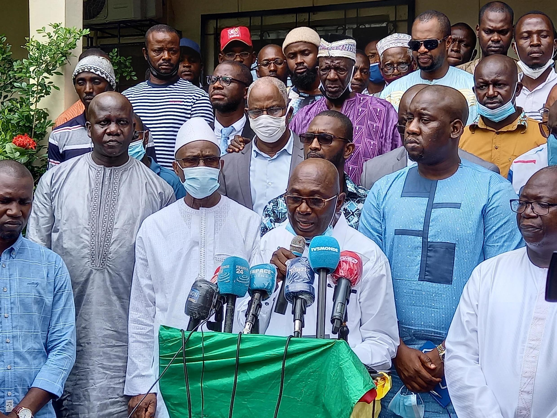 FNDC ɲɛmɔgɔ Abdourahmane Sano.