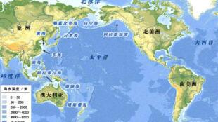 图为太平洋地图