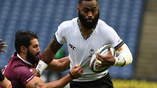 Bristol Bears' Semi Radradra captained Fiji in December