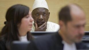 La Haye, Cour pénale internationale, 14 mars 2012.Thomas Lubanga.