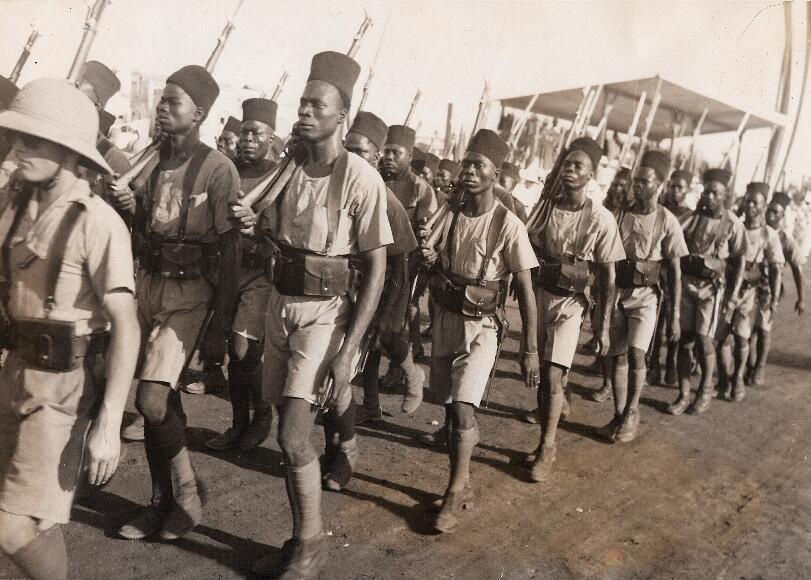 Défilé à Djibouti.