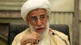 آیت الله احمد جنتی رئیس مجلس خبرگان