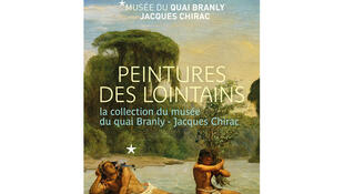 Musée du quai Branly - Jacques Chirac. Affiche de l'exposition «Peintures des lointains, la collection du musée du quai Branly - Jacques Chirac». Du 30 janvier 28 octobre 2018.