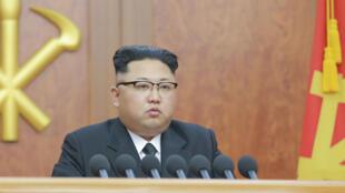 Lors du déplacement de hauts dignitaires chinois à Washington, mercredi 21 juin, il sera question de la Corée du Nord et de son leader Kim-Jong-Un (photo).