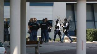 法國東南部城市格拉斯(Grasse)3月16日上午發生一起校園槍擊案 多人受傷 (2017年3月16日)