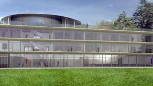 Le futur Centre de formations et de conférences proposera 5 200 m2 de surface au plancher, répartis sur quatre niveaux.