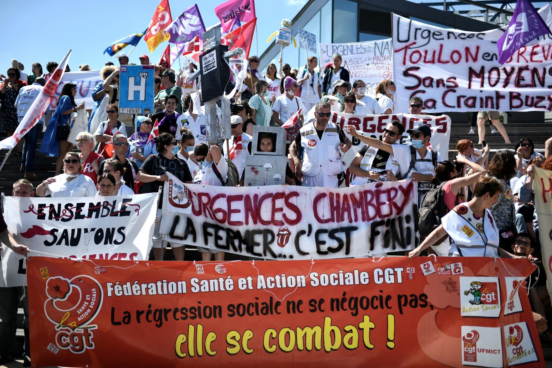 Медицинские работники бастуют 2 июля