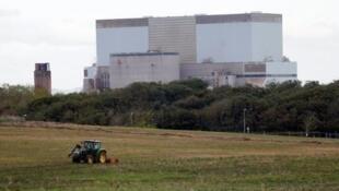 Las principales potencias nucleares no han firmado el tratado de prohibición de la ONU. El sitio nuclear de Sellafield,  en el Reino Unido, 23 febrero 2017