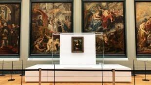 《蒙娜丽莎》在美第奇画廊