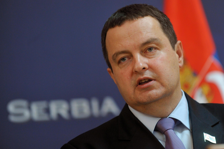 Ivica Dacic, le Premier ministre serbe.