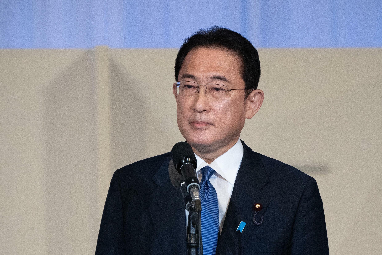 Fumio Kishida, el nuevo líder del partido gobernante japonés y futuro primer ministro, en Tokio el 29 de septiembre de 2021
