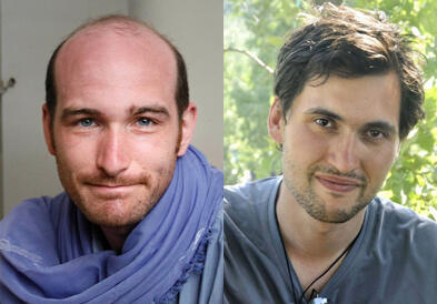 Os jornalistas franceses Nicolas Hénin e Pierre Torres, sequestrados em junho na Síria