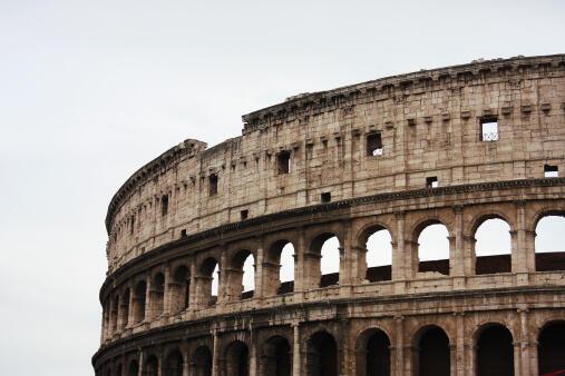 Le Colisée à Rome.