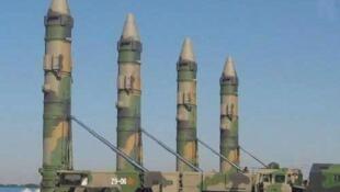 網傳中國東風-21D型導彈