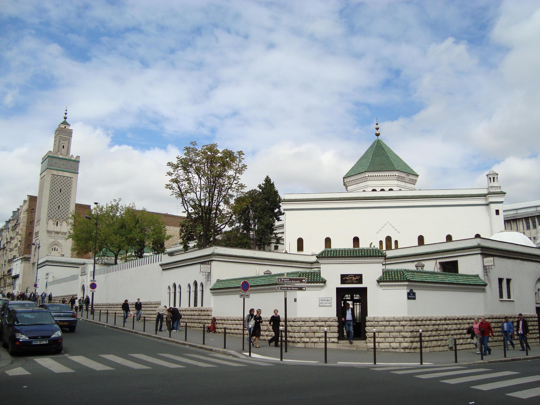 La Grande Mosquée de Paris.