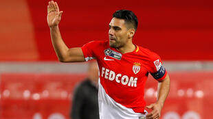 Monaco skipper Radamel Falcao has scored 17 goals in 20 Ligue 1 matches this season.