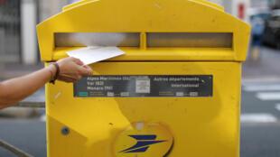 Letter box, Nice France