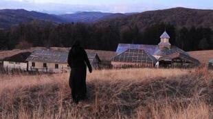 Une scène du film «Au-delà des collines».
