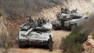 El ejército israelí reforzó la presencia militar en Líbano.