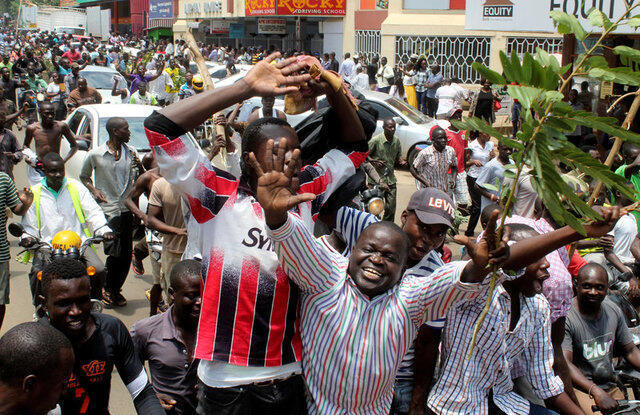 Wafuasi wa vyama vya siasa nchini Kenya.